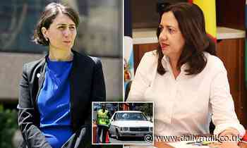 Annastacia Palaszczuk and Gladys Berejiklian's tense phone call about Queensland's borders