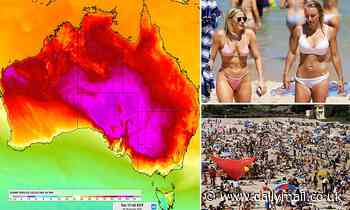 Australia: Extreme weather stretching 4,500km from Broome to Canberra will see 50C days