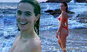 Zoey Deutch shares bikini photos and reveals she got approval from her mother Lea Thompson