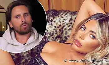 Megan Barton Hanson puts on a sultry display in a lace body following Scott Disick DM drama