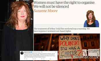 Columnist Suzanne Moore reveals she left the Guardian because she was 'betrayed and bullied'