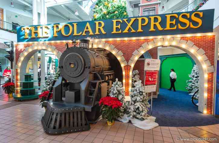'The Polar Express' set pulls in at MainPlace Mall for holidays