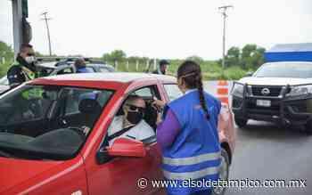 Refuerzan medidas sanitarias por Covid-19 en la frontera - El Sol de Tampico