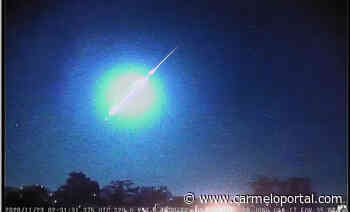 Cae meteorito y explota sobre la frontera entre Uruguay con Brasil - Carmelo Portal