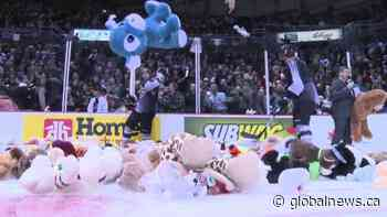 Vancouver Giants host 2020 Teddy Bear Toss online raffle