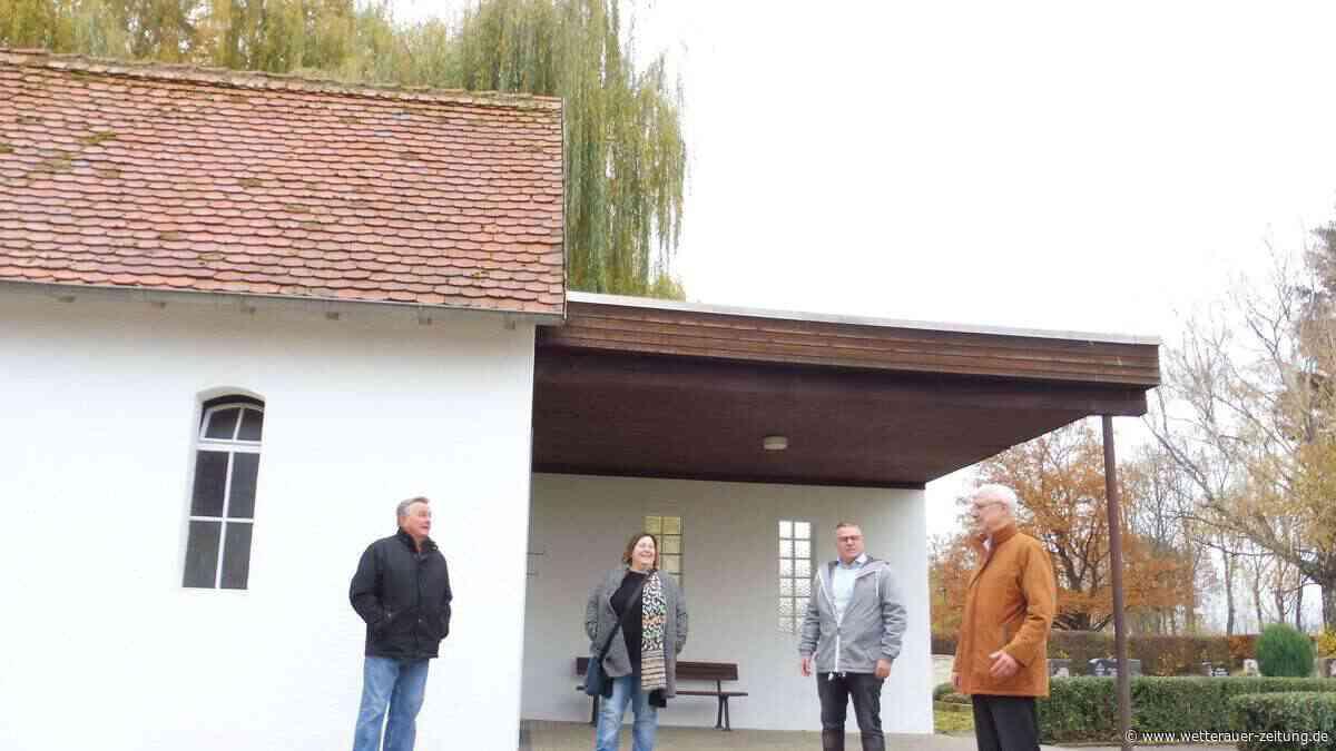Alte Trauerhalle wird saniert - Wetterauer Zeitung