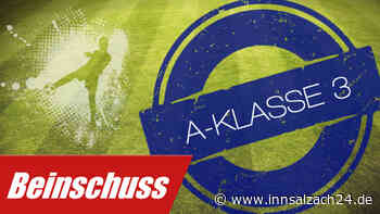 A-Klasse 3: TSV 1880 Wasserburg II – TSV Soyen, 2:3 - innsalzach24.de