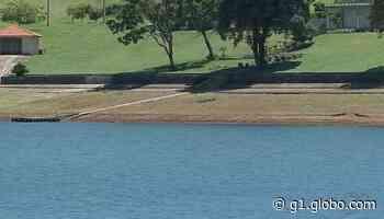 Estiagem reduz nível de represa de usina hidrelétrica de Chavantes e afeta o turismo - G1