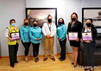Reconoce Nuevo Laredo a mujeres en la aviación - Aviación 21