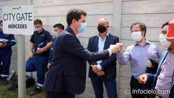 Mercedes: De Pedro inauguró obra para el sistema de alta presión de gas natural - Infocielo
