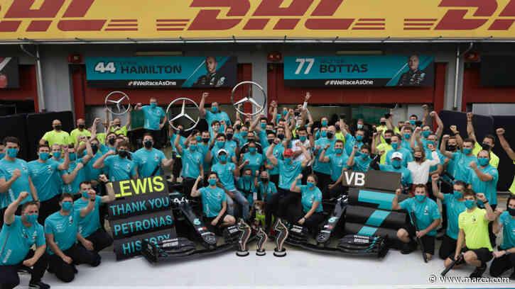 El éxito de Mercedes se basa en una consigna de los 'All Blacks' - MARCA.com