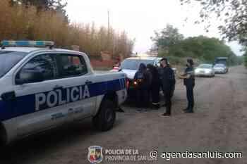 | La Policía descubrió una fiesta clandestina en Villa Mercedes - Agencia de Noticias San Luis