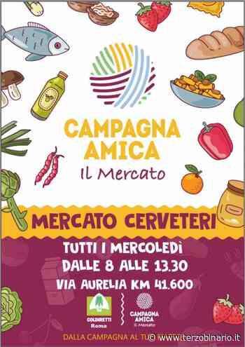 Arriva a Cerveteri il mercato di Campagna Amica di Coldiretti - TerzoBinario.it