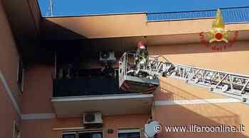 Incendio appartamento a Cerveteri: salvati un anziano, il figlio e il loro cagnolino - IlFaroOnline.it