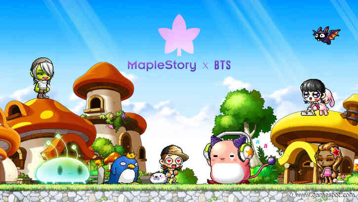 MapleStory Announces Collaboration With BTS