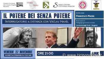 """Magenta, Don Tragella: """"Il potere dei senza potere - Interrogatorio a distanza con Václav Havel - Ticino Notizie"""
