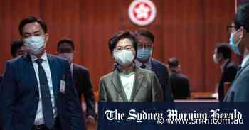 Hong Kong leader vows to 'restore political system from chaos'