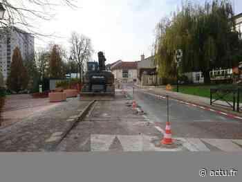 Thorigny-sur-Marne. Quatre semaines de travaux pour commencer à rénover le centre-ville - La Marne