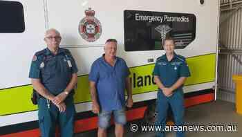 Ilfracombe snakebite survivor thanks paramedics - Area News
