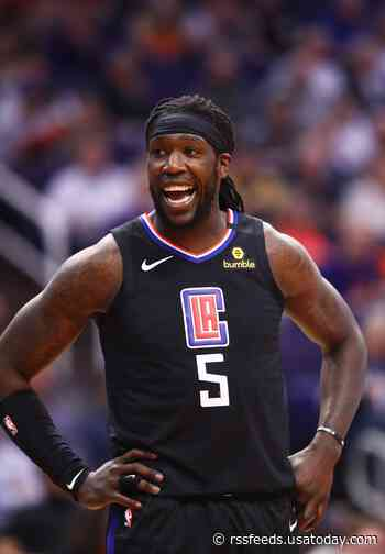 Lakers' Montrezl Harrell on the Clippers' lack of interest, making life easier for LeBron James and Anthony Davis