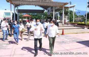 Desde Mapastepec invita Llaven Abarca a cerrar filas por la seguridad - Quadratín Chiapas