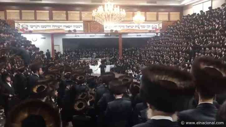 Alcalde de Nueva York promete multa de $ 15.000 por masiva boda judía ultraortodoxa