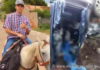 Neto da prefeita de Araguapaz morre em acidente de carro em Anicuns - Mais Goiás