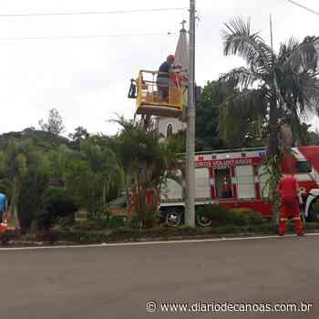 Riozinho recebe últimas câmeras de segurança - Diário de Canoas