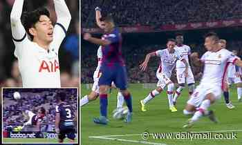 Suarez and Son included in nominations for FIFA Puskas award after incredible strikes last season