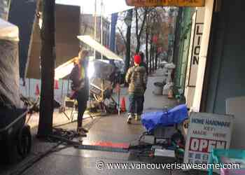 Filming in Vancouver: Production in Gastown today calls for 'classic cars' - Vancouver Is Awesome