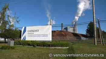 Vancouver Island paper mill to resume operations after wood shortage, cyber attack - CTV News VI