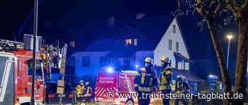 Feuer auf Balkon in Trostberg: Nachbarn helfen - Traunsteiner Tagblatt