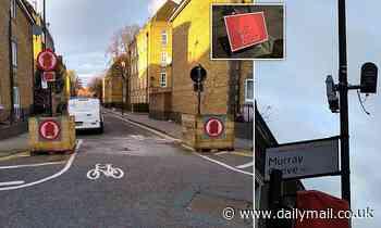 Vigilantes are trashing bike-friendly road blocks and cameras amid drivers' and cyclists' 'war'