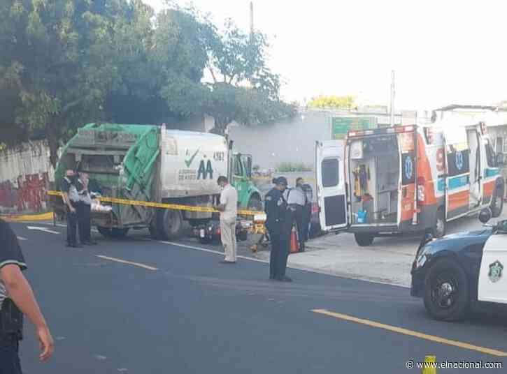 Venezolana murió arrollada por un camión de aseo urbano en Panamá