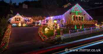 'Grinch' neighbour sends threatening note to family over Christmas lights