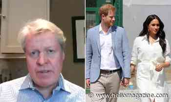 Charles Spencer offers sympathy to Prince Harry and Meghan Markle