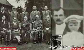 Cadbury's dark secret: How founder's war hero great-grandson imported drugs to 1920s Britain