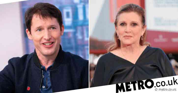 James Blunt dedicates first book to late friend Carrie Fisher with powerful tribute