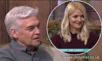Phillip Schofield blames Holly Willoughby for the I'm A Celebrity trials being 'easier'