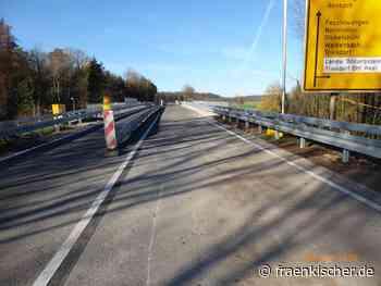 Ansbach + Gunzenhausen: +++ B13 - Bahnbrücke Triesdorf erstrahlt im neuen Glanz +++ - fränkischer.de