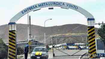 Oruro: Metalúrgica Vinto reestablece relaciones comerciales con Huanuni y Colquiri - eju.tv