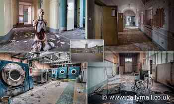 Haunting photos in an abandoned Irish mental asylum