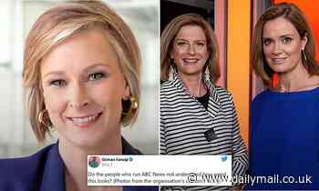 Viewers and former staff slam ABC after it reveals all-white line-up of news presenters for 2021