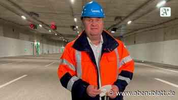 Verkehr in Hamburg: Stellingen: Neue Tunnelröhre auf der A7 fertiggestellt