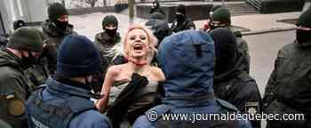 Violences faites aux femmes: des Femen manifestent en Ukraine