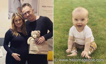 James and Ola Jordan's baby daughter Ella reaches exciting new milestone - watch
