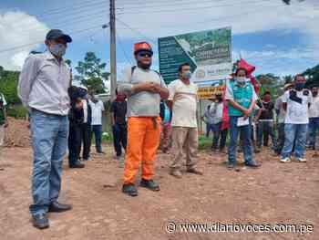 Continúa construcción de carretera Chazuta - Curiyacu - Diario Voces