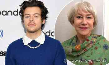 Harry Styles,and Dame Helen Mirren lead the stars donating signed items for charity auction