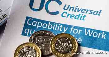 Fears mount that 6million Universal Credit claimants could lose £1,000 next year