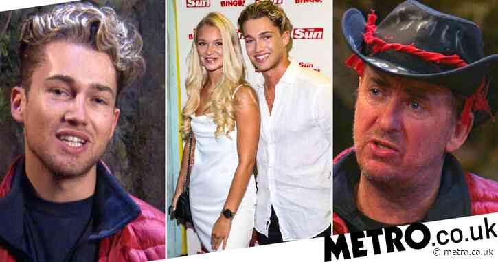 I'm A Celebrity 2020: AJ Pritchard's girlfriend defends dig at Shane Richie's cleaning skills